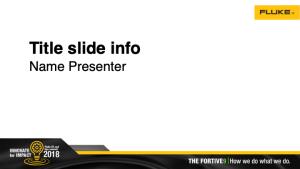 Growth Summit 2018 PowerPoint Template