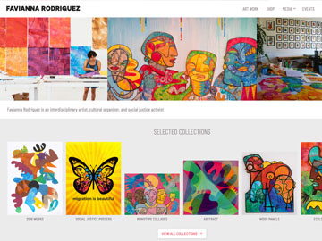 Favianna Rodriguez Website