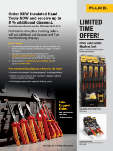 Insulated Hand Tools Sales Flyer