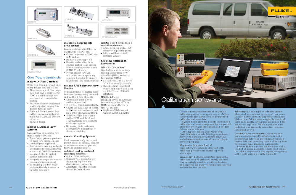 FCAL Old Catalog Software Spread