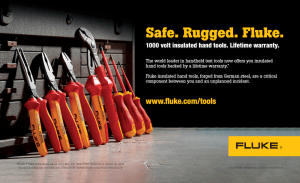 Insulated Hand Tools Half Page Ad