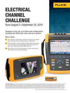 Electrical Channel Challenge Flyer