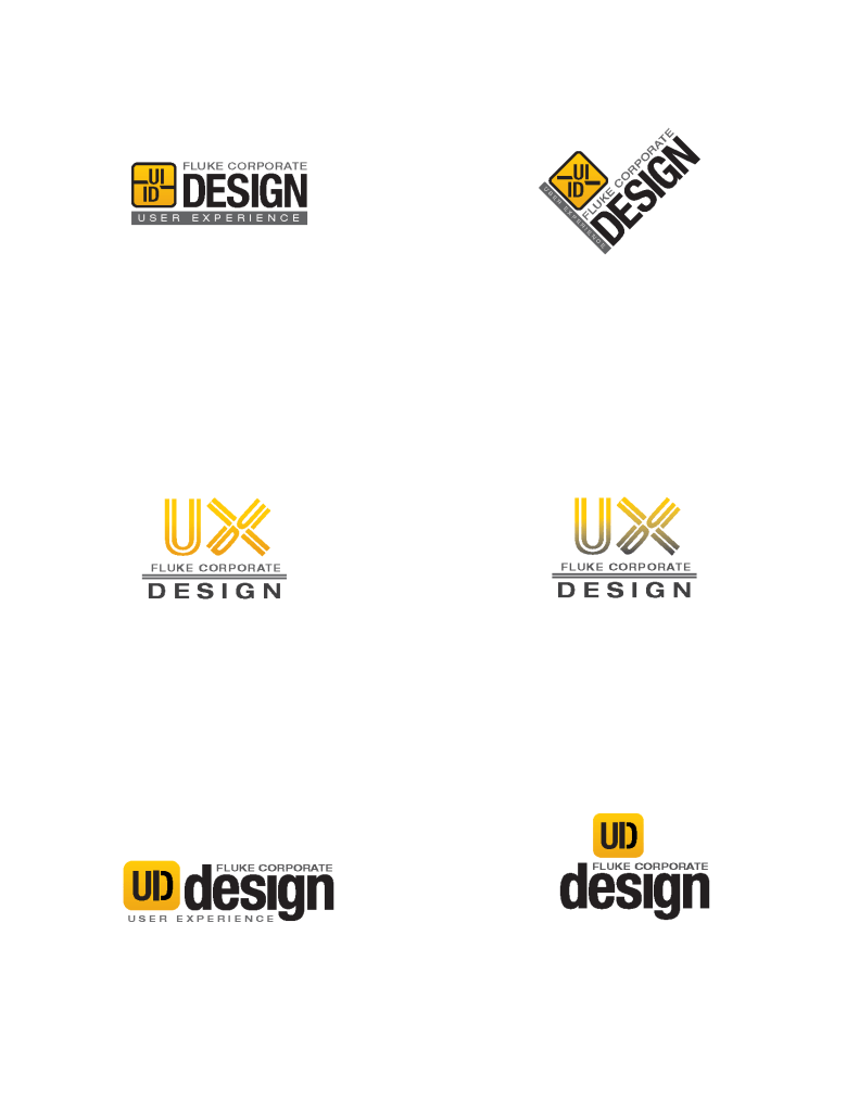 Fluke Corporate Design Lockup Concepts