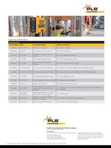 PLS 6 and 180 Datasheet