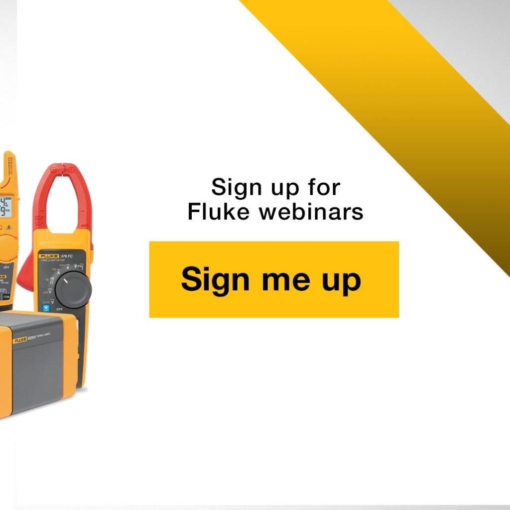 Fluke UAE Webinar Linkedin Carousel Banner Ad