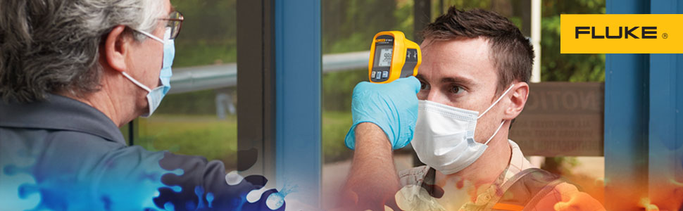 Fluke 67 MAX Clinical Infrared Thermometer Campaign, Amazon Web Banners