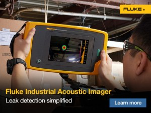 Fluke Industrial Acoustic Imager Web Banners