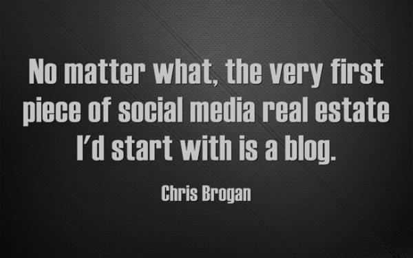 chris brogan start with blog