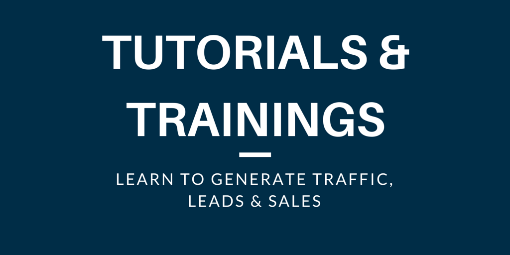 tutorialsandtrainings