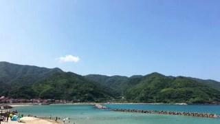 野波海水浴場の風景1
