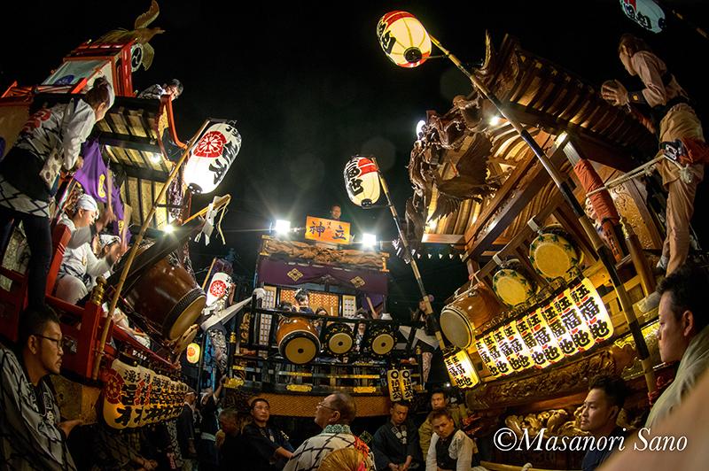 11月3日夜 宮本、神立、福地の競り合い