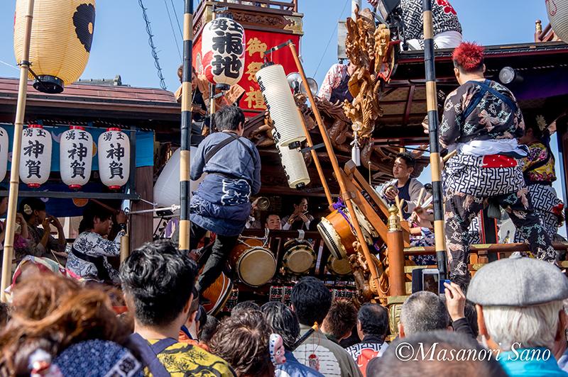 11月4日 神賀、福地、琴平の競り合い
