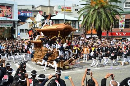 岸和田のだんじり祭 写真提供:岸和田市