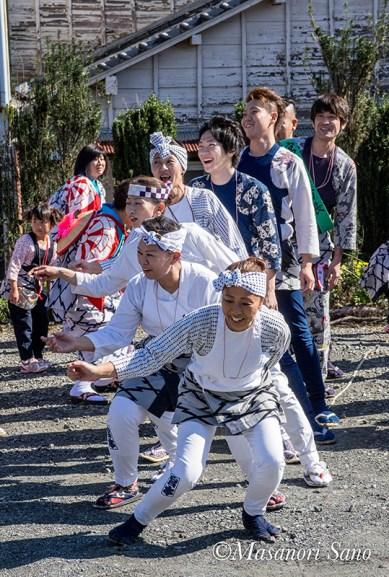 富士宮まつりの踊り