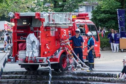 祭りと消防団