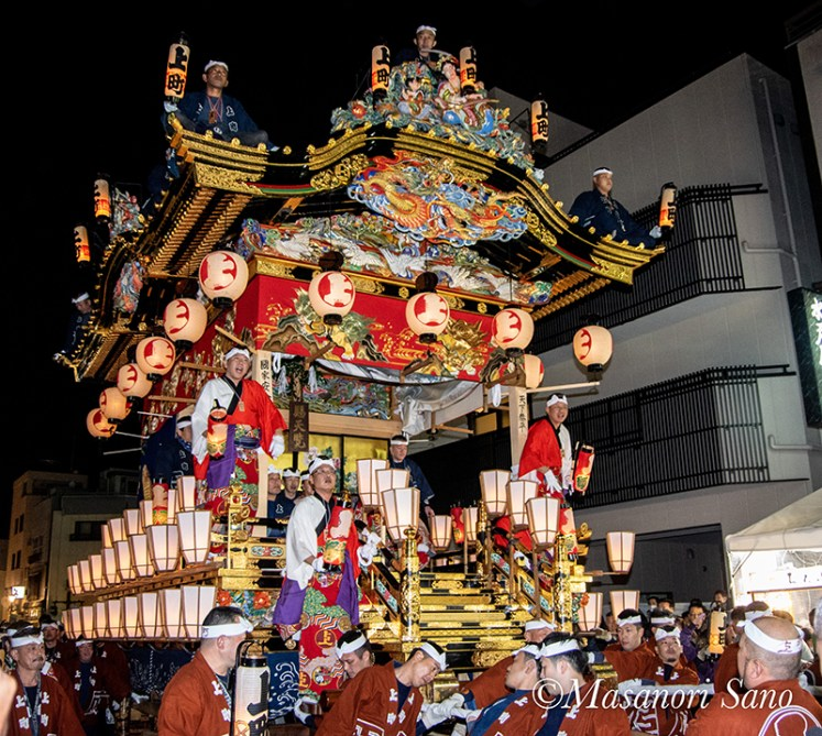 平成30年秩父夜祭り初日を見学