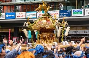 金澤町会の神輿