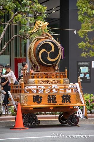 旅籠町の山車(曳き太鼓)