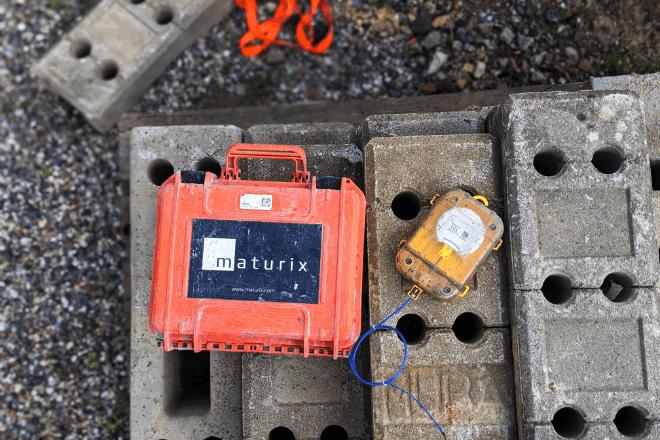 Maturix insitu concrete sensors