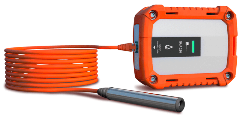 Gaia 220 and Type K Thermocouple