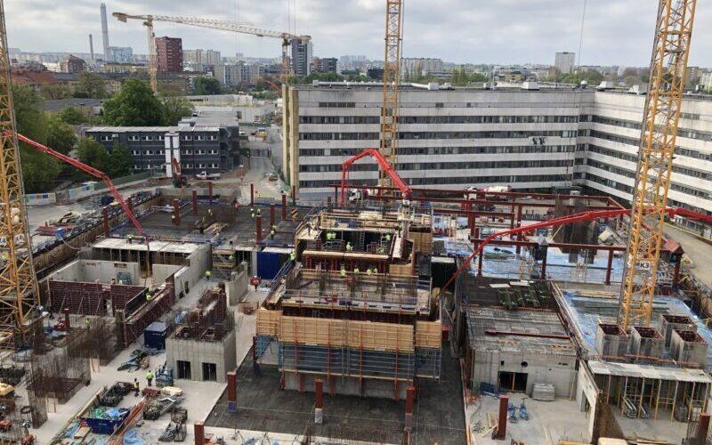 Skanska uses Maturix at Malmö Healthcare building for concrete monitoring