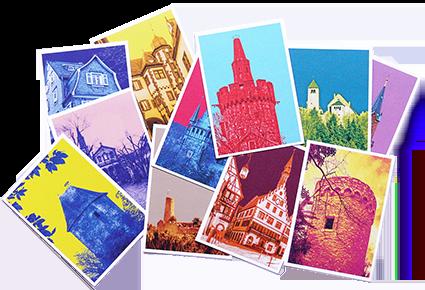 Ansichts-Karten