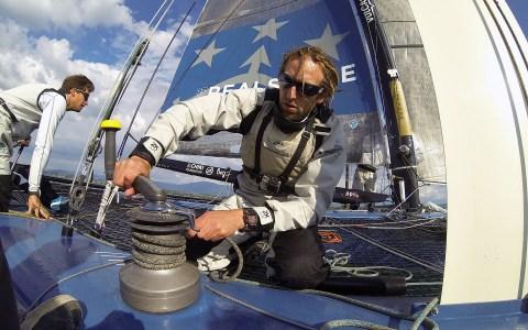 Navigation a bord du D35 Realstone du Realteam / Crédit:Samuel Fromhold/Quotidien de la côte