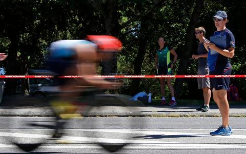 28e Triathlon de Nyon / Crédit: Céline Reuille/Quotidien de La Côte