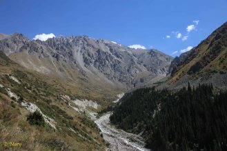 Hike in Ala Archa National Park