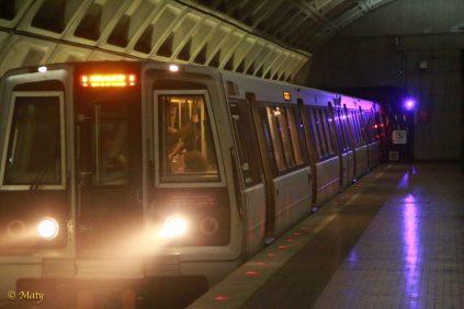 Train arrived on other platform
