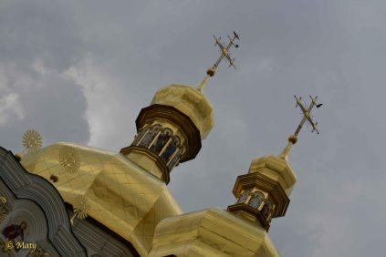 Pecherska Lavra Monastery - golden domes