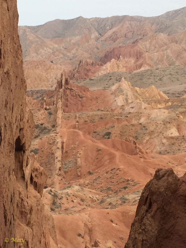 I like this view - the Wall of China rock formation