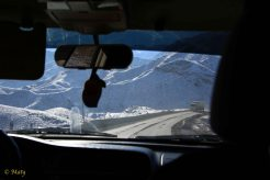 We are making great time on the road in the Osh Oblast, Kyrgyz Republic on the way to border with Tajikistan