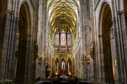 Breathtaking St. Vits Cathedral complex - Prague, Czech Republic