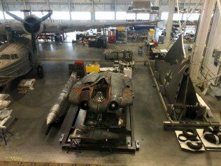 Restoring of the German Horten Ho IX / Horten Ho 229 at the Mary Baker Engen Restoration Hangar