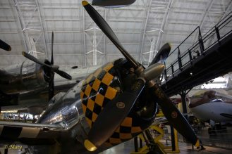 Enormous propeller of the Republic P-47 D Thunderbolt