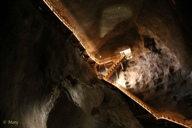 Amazing stairway to.... salt?