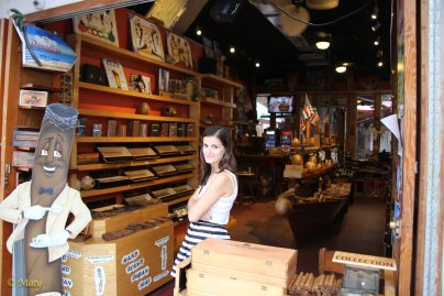 Cigar store - unfortunately you cannot buy Cubans here...