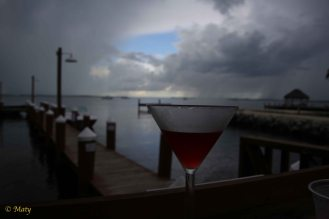 """Yeah, it can rain... we got our refreshments... - as Humphrey Bogart would say in movie """"Key Largo"""""""