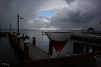 "Yeah, it can rain... we got our refreshments... - as Humphrey Bogart would say in movie ""Key Largo"""