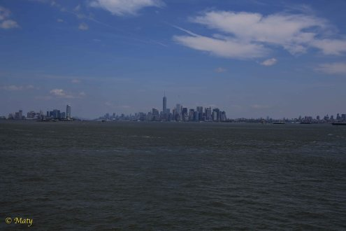 Jersey City, Manhattan and Brooklyn in one photo