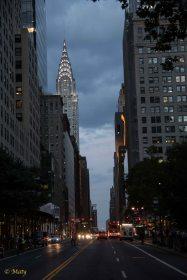 Evening in Manhattan