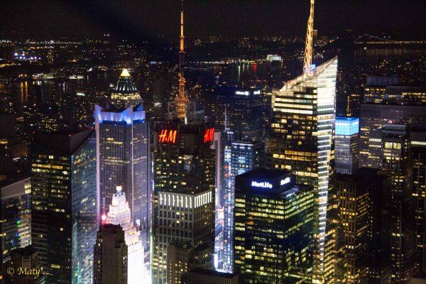 York City Empire State Building Magic Big Apple Night Summer 2015 Maty'