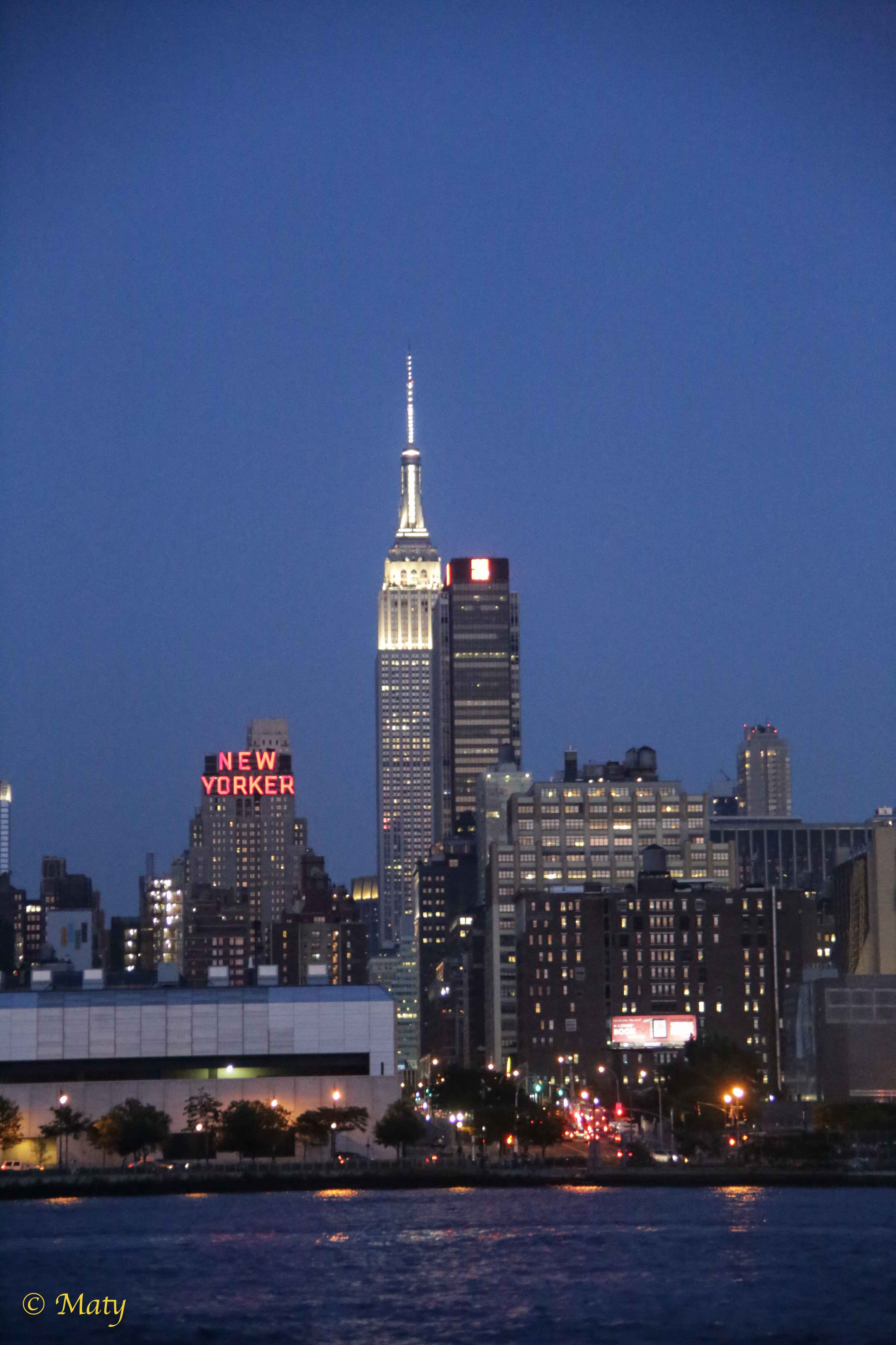 New York City – The Empire State Building: magic Big Apple at night (Summer 2015) – Maty's Weekend Photography