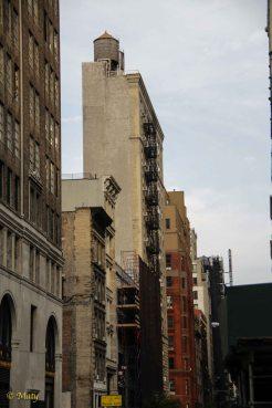 Older Manhattan - the buildings reach their life span