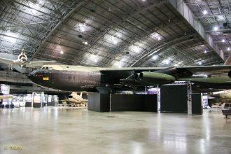 Boeing B-52D Stratofortress sideways