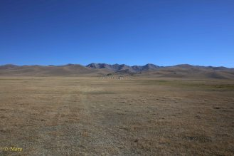 and there is flat surface - 3020 M above sea level