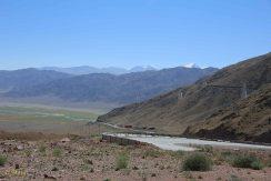 Road around Orto Tokoy Reservoir - it is very good!