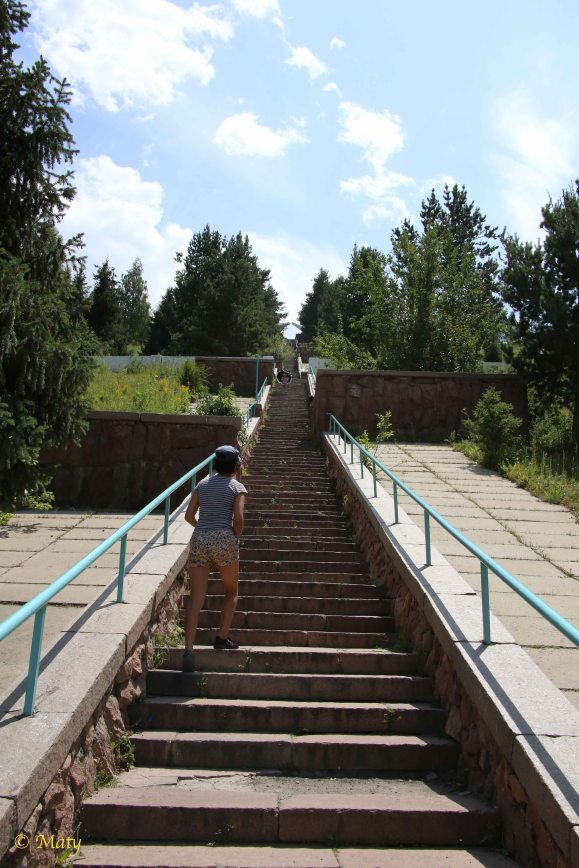 And the stairs... many of them!
