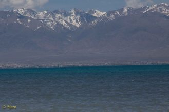 Issyk Kul and Mountains